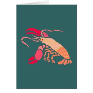 Hummer lobster karte