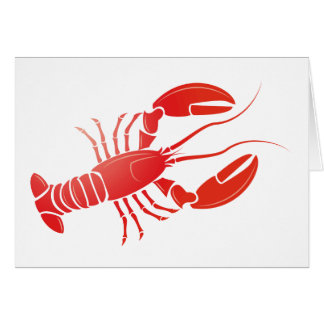 Hummer lobster karten