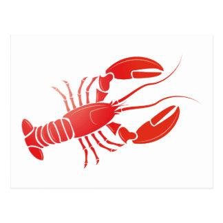 Hummer lobster postkarten