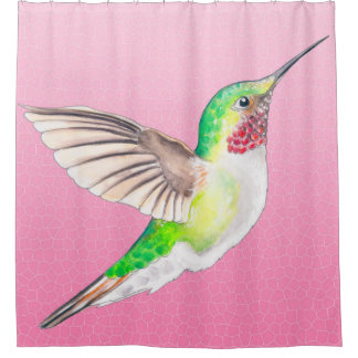 Hummer Pink Shower Curtain