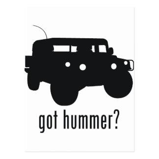 Hummer Postcards