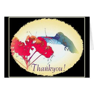Hummer Thankyou Card