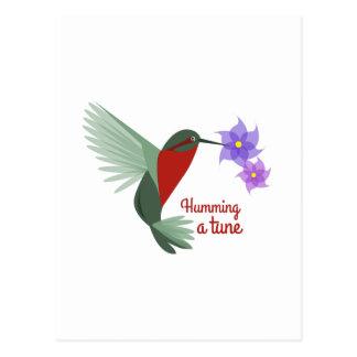 Humming A Tune Postcard