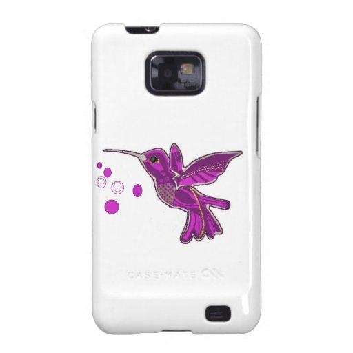 Humming bird Image Galaxy S2 Covers