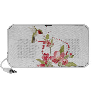 Humming bird iPod speakers