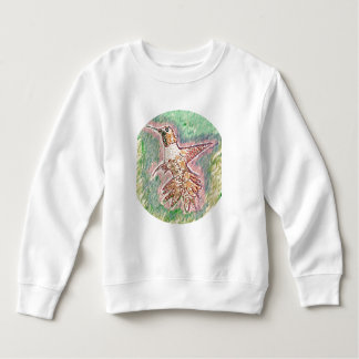 Humming Bird Style: Toddler Fleece Sweatshirt Warm
