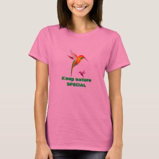Humming Birds Keep Nature Special t-shirt