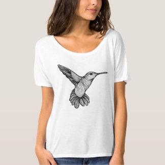 Humming-print T-Shirt