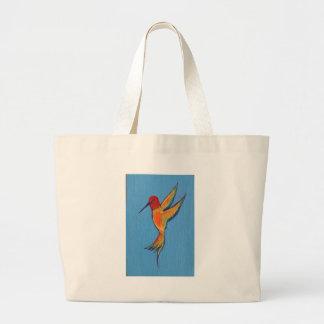 Hummingbird 2 tote bags