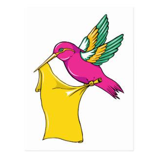 Hummingbird 3 ~ Vintage Forties Tattoo Bird Art Post Cards