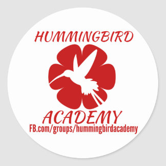 Hummingbird Academy Stickers