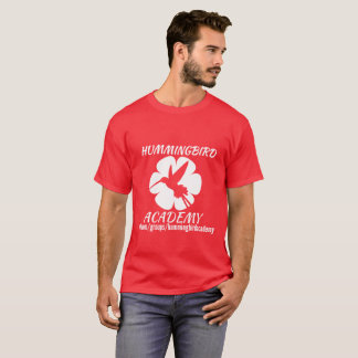 Hummingbird Academy White Logo T-Shirt