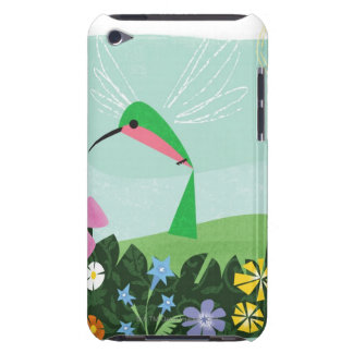 Hummingbird Among Flowers Barely There iPod Case