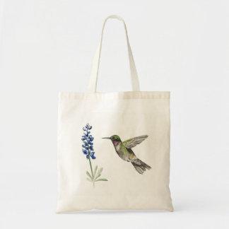 Hummingbird and Bluebonnet