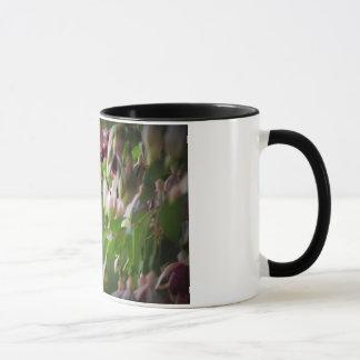 Hummingbird And Fushia Flower Plant Mug