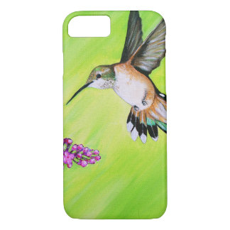 Hummingbird and Lilac iPhone 8/7 Case