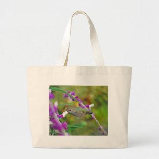 Hummingbird and Mexican Sage II Jumbo Tote Bag