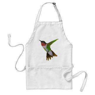 Hummingbird Adult Apron