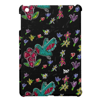 Hummingbird art case for the iPad mini