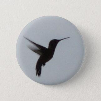 Hummingbird At Dusk 6 Cm Round Badge