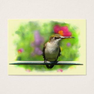 Hummingbird ATC Business Card