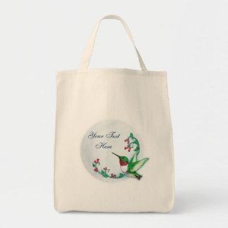 Hummingbird Bag Template