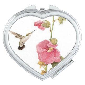 Hummingbird Bird Compact Mirror