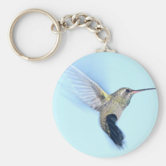 Hummingbird Bird Cute Animal Key Ring