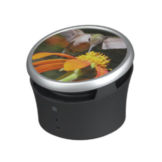 Hummingbird Bird Sunflower Flower Floral Bluetooth Speaker
