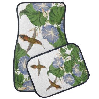 Hummingbird Birds Floral Flowers Floor Mats Floor Mat
