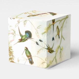 Hummingbird Birds Wildlife Animals Flowers Floral Favour Box