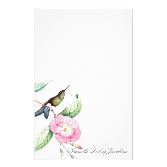Hummingbird Birds Wildlife Animals Stationery