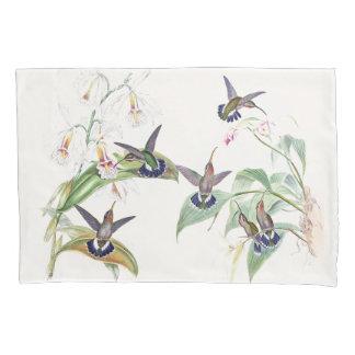 Hummingbird Birds Wildlife Flowers Pillowcase