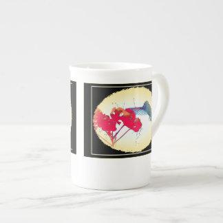 Hummingbird Bone China Cup