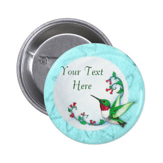Hummingbird Buttons