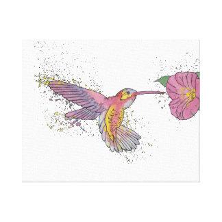 Hummingbird. Canvas Print