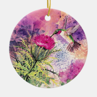 Hummingbird Christmas Ornament Gift