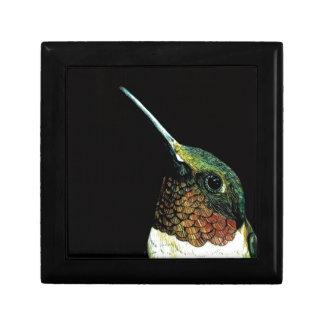 Hummingbird design gift box