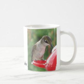 Hummingbird, Drink up life! Coffee Mug