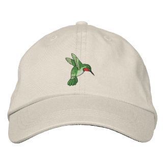 Hummingbird Embroidered Hats