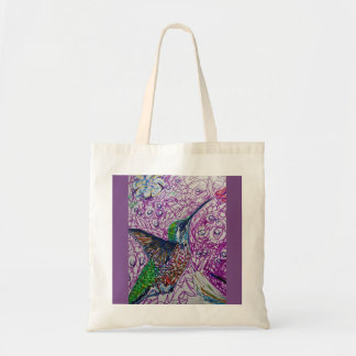 Hummingbird Energy Tote Bag