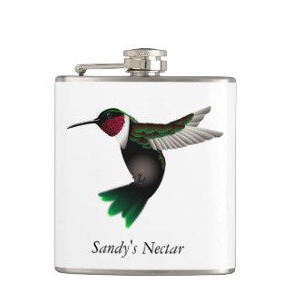 Hummingbird flask flask