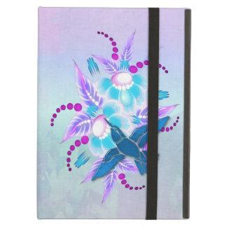 Hummingbird Floral Art Deco iPad Air Cases