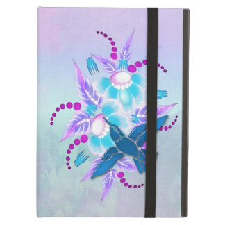 Hummingbird Floral Art Deco iPad Air Cover