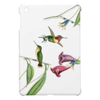 Hummingbird & Flowers iPad Mini Case