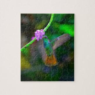 Hummingbird Garden Jigsaw Puzzle