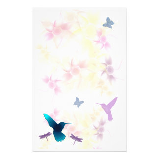Hummingbird Garden Stationery