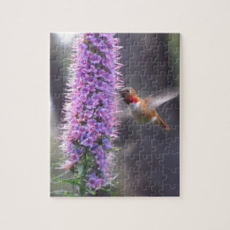 Hummingbird - happy puzzle