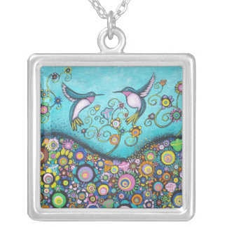 Hummingbird Haven Necklace