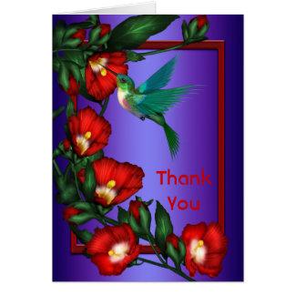 Hummingbird Hibiscus Note Cards